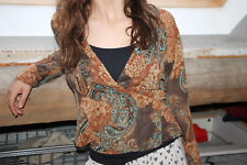 BLOUSE CACHE COEUR OLIVIER STRELLI TAILLE 38