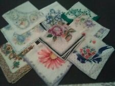 Vintage Hankies LOT OF (9)