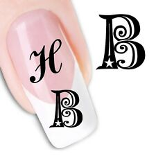Nail Art Sticker Water Decals Transfer Stickers Decorative Art Letters (DX1288)