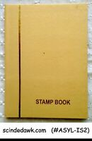 COLLECTION OF ISRAEL STAMP IN SMALL STOCK BOOK - 95 STAMPS