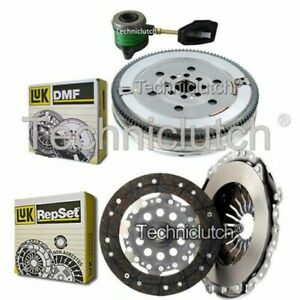 LUK 2 PART CLUTCH KIT AND LUK DMF AND CSC FOR VOLVO C70 CONVERTIBLE 2.0 T