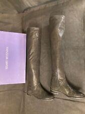 NEW Stuart Weitzman Zealot $795 Black Boots 5-1/2 M