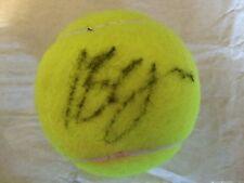 TENNIS: Irina-CAMELIA begu FIRMATO DUNLOP FORT ALL COURT Palla Da Tennis + COA