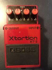 boss xt-2 Xtortion pedal
