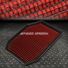 FOR 04-07 BMW E60 5-SERIES RED REUSABLE&WASHABLE HIGH FLOW DROP IN AIR FILTER