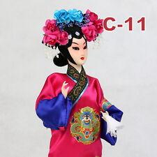C-11 China Peking Oper chinesisch Puppe Figur Seide 31 cm Neu Geschenkidee OVP