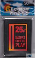 50 LEGION SUPPLIES Insert Coin Arcade MATTE DECK PROTECTOR CARD SLEEVES mtg