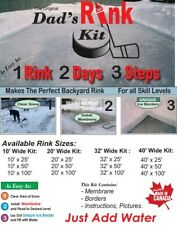 Dad's Rink Kit: 10' x 20' DIY Backyard Ice Rink Kit