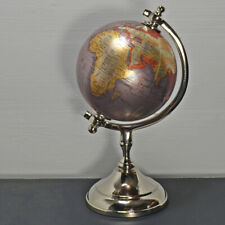 Rotating Earth Globe World Map Swivel Stand Geography Educational Toy