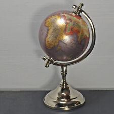 World Globe World Map Swivel Stand Geography Educational Toy