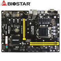 FOR Biostar TB250-BTC Motherboard Supports DDR4 2400 32GB LGA1151 100% Test Work