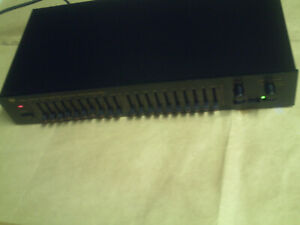 Stereo Graphic Equalizer / Pre Amplifier WVQ-600 Pro