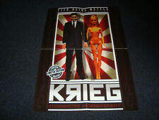 King Orgasmus One Krieg Poster Plakat LIMITED EDITION I Luv Money Orgi69 ILM