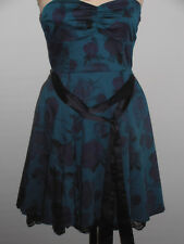 H&M Strapless Bandeau / Sweetheart Evening Dress Prom  Special Occasion Size 8
