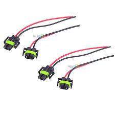 4x H11 H8 880 881 Female Adapter Plug Headlight Fog Light Wiring Harness Socket