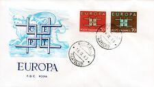 Italien 1149-50 FDC-Rodia, CEPT 1963
