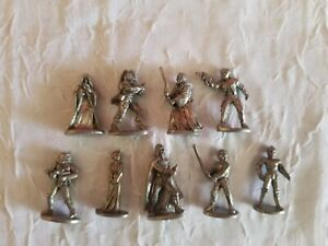 LOT 9 HTF Star Wars 1997 MONOPOLY TOKENS Game PIECES Darth Vader PRINCESS LEA