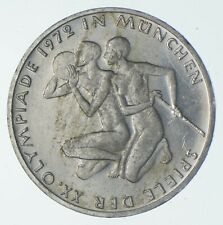 SILVER - WORLD Coin - 1972 Germany 10 Mark - World Silver Coin *071