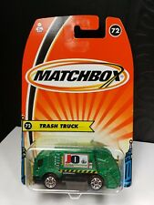 2005 MATCHBOX TRASH TRUCK RECYCLING GARBAGE - A10