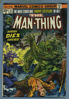 Man-Thing #10 1974 Marvel Comics Mike Ploog m