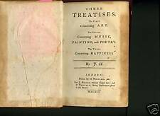 Three Treatises,Art,Music,Happiness, Harris James,1744