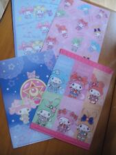 Sanrio My Melody × Sailor Moon  too cute ♡ Clear File A5 full sets from Japan