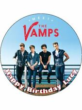 """The Vamps Personalised 7.5"""" Edible Cake Topper"""