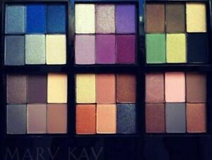 Mary Kay Mineral Eye Color: Denim, steel, sweet, tender, iris, stone and oter..