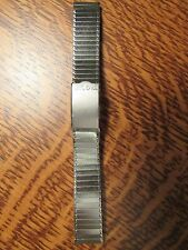 Stainless VINTAGE Bulova ACCUTRON Rope Link SPACEVIEW Astronaut BAND New Old St