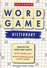 THE HAMLYN WORD GAME DICTIONARY /Tom Pulliam & Gorton Carruth /Over 225000 words