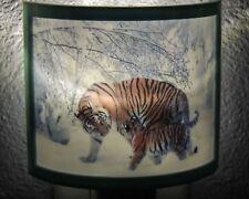 Snow Tiger LED Plug In Night Light