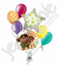 7 pc Disney Princess Moana Balloon Bouquet Party Decoration Hawaii Polynesian