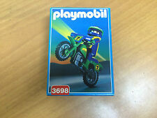 playmobil  3698 moto made in spain 1994 new old stock see photos