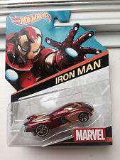 Hot Wheels Marvel Iron Man. New! #1