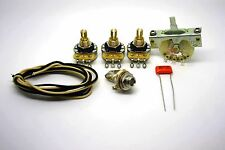 FENDER STRATOCASTER VINTAGE STYLE WIRING KIT - 0.047uF SPRAGUE ORANGE DROP