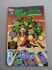 Mars Attacks The Savage Dragon 2 of 4 . Topps 1996 - VF - minus