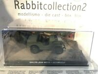 "VDIE CAST "" WILLYS JEEP M606 - OCTOPUSSY "" 007 JAMES BOND SCALA 1/43"