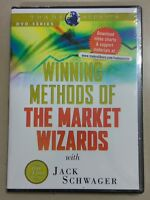 RARE Factory Sealed DVD - Jack Schwager - Winning Methods of the Market Wizards
