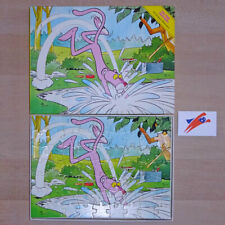 Flamenco | Vintage The Pink Panther Gone Fishing - Puzzle 63 pieces Complete