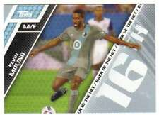 2017 Topps MLS Soccer Back of the Net #BOTN-15 Kevin Molino Minnesota United FC
