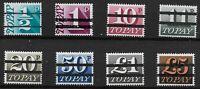 SG Between D77 & D89. 8 Values Between 1/2d.& £5. Black Bars Ovpt. UM. Ref:0.68