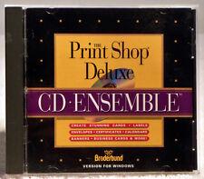 The PrintShop Delux CD Ensemble for Windows by Broderbund from 1994