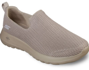 SKECHERS Mens GO WALK MAX Slip-On Beige SHOES 8.5M   54600   NWOB