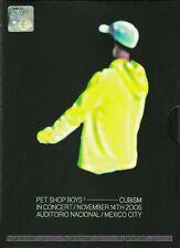 PET SHOP BOYS CUBISM In Concert Auditorio Nacional MEXICO City DVD-9 REGION 2-6