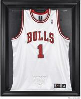 Chicago Bulls Black Framed Team Logo Jersey Display Case - Fanatics