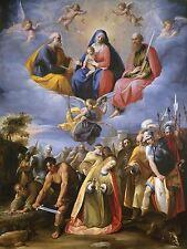 Giuseppe Cesari CAVALIERE d'Arpino ITALIA MARTIRE St. Margaret ART PRINT bb5528a