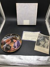 1988 Scarlett and Ashley After the War Gone with the Wind Collectors Plate-7812D