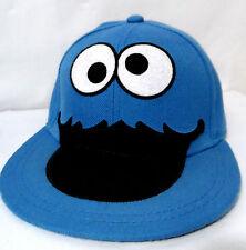 SESAME STREET Cookie Monster HOT TOPIC Hat Cap Wool blend One Sz Adult Cartoon