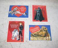 Vintage Star Wars Valentine's Day Cards 1983