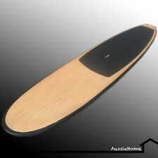 "11'.0"" [3.5m] Bamboo  Stand Up Paddle Board (SUP) Extras incl adj paddle, cover"